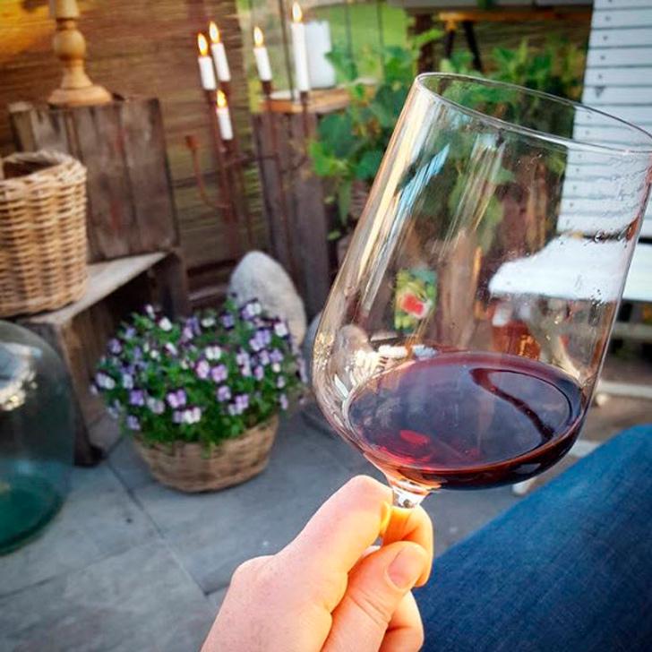 Vin på udepladsen