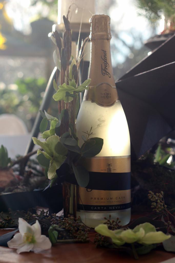 Nytårstip – giv en flaskedekoration!