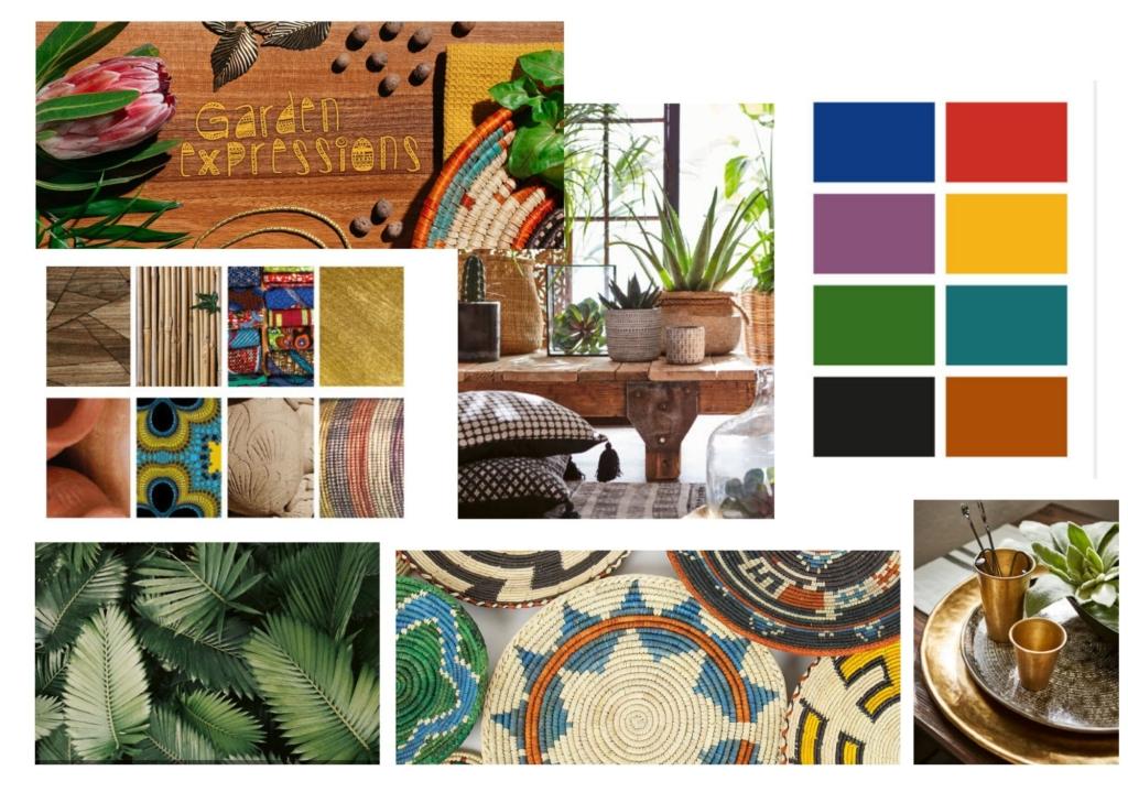 Billeder Elmia Garden trends, collage Hanna Schagerlöv