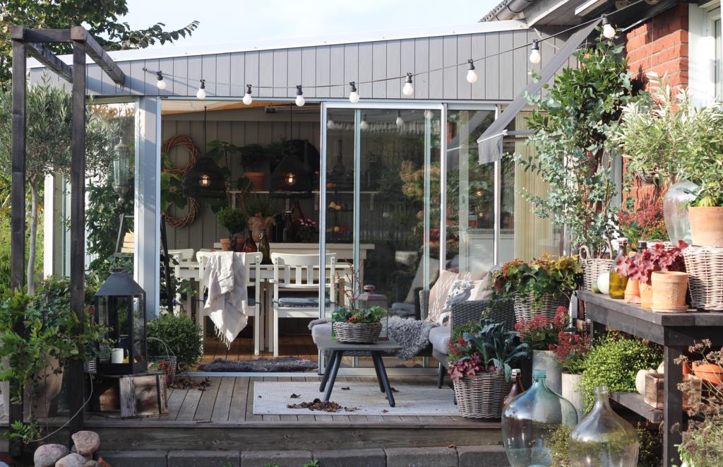 Efterårsbeplantninger – skab et dejligt miljø på terrassen