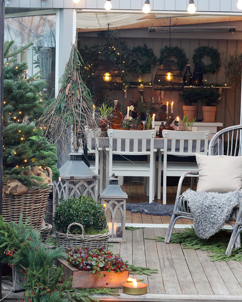 Nu er det vinter på min terrasse